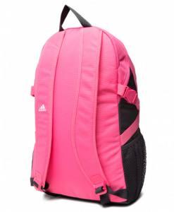 mochila adidas power v pink white